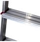 KRAUSE Stufen-Stehleiter »CORDA«, Anzahl Sprossen: 3, Aluminium-Thumbnail