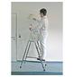 KRAUSE Stufen-Stehleiter »CORDA«, Anzahl Sprossen: 5, Aluminium-Thumbnail