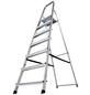 KRAUSE Stufen-Stehleiter »CORDA«, Anzahl Sprossen: 7, Aluminium-Thumbnail