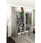 KRAUSE Stufen-Stehleiter »MONTO«, Anzahl Sprossen: 4, Aluminium-Thumbnail