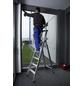 KRAUSE Stufen-Stehleiter »STABILO«, 5 Sprossen, Aluminium-Thumbnail