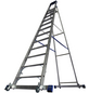 KRAUSE Stufen-Stehleiter »STABILO«, Anzahl Sprossen 12-Thumbnail