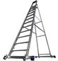 KRAUSE Stufen-Stehleiter »STABILO«, Anzahl Sprossen: 12, Aluminium-Thumbnail