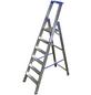 KRAUSE Stufen-Stehleiter »STABILO«, Anzahl Sprossen: 6, Aluminium-Thumbnail