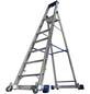 KRAUSE Stufen-Stehleiter »STABILO«, Anzahl Sprossen: 7, Aluminium-Thumbnail