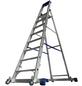 KRAUSE Stufen-Stehleiter »STABILO«, Anzahl Sprossen: 8, Aluminium-Thumbnail