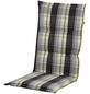 DOPPLER Stuhlauflage »Comfort Light«, Niederlehner, grün/braun/beige, kariert, BxL: 50 x 100 cm-Thumbnail