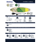 BESTWAY SUP-Riverboard-Set »Kahawai«, L x B x H: 310  x 86  x 15  cm, Nutzlast: 140  kg-Thumbnail