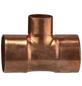 CORNAT T-Stück, ein reduzierter Abgang, 28x18x28 mm-Thumbnail