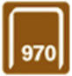 RAPID Tackerklammern, 12 mm, Heftklammer Typ 970, 670 St., in Blisterverpackung-Thumbnail