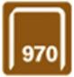 RAPID Tackerklammern, 14 mm, Heftklammer Typ 970, 670 St., in Blisterverpackung-Thumbnail
