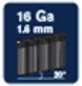 RAPID Tackernägel, 50 mm, Nageltyp 16A, 2000 Stück, Kartonbox-Thumbnail