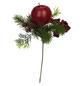 Flower-Power Tannenpick, Apfel, Beeren, Zapfen, rot-Thumbnail