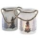 Teelichtglas Winterwald, 11 x 10 cm-Thumbnail