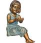 GRANIMEX Teichfigur »EMMA«, Polystone, bronzefarben-Thumbnail