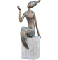 GRANIMEX Teichfigur »Lana«, Polystone, bronzefarben-Thumbnail