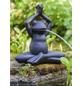 HEISSNER Teichfigur, Yoga-Frosch im Schneidersitz, Höhe: 40  cm, Polyresin, anthrazit-Thumbnail