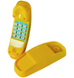 AKUBI Telefon, BxL: 20,5 x 6,5 cm, gelb-Thumbnail