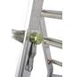 KRAUSE Teleskopleiter »MONTO«, Anzahl Sprossen: 16, Aluminium-Thumbnail