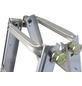 KRAUSE Teleskopleiter »MONTO TeleMatic«, 20 Sprossen, Aluminium-Thumbnail