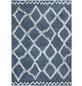 LUXORLIVING Teppich »Mia«, BxL: 67 x 140 cm, blau-Thumbnail