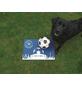 MR. GARDENER Terrassenplatte »Fußball Gelsenkirchen«, aus Beton, Kanten: gefast-Thumbnail