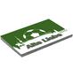MR. GARDENER Terrassenplatte »Fußball Hannover«, aus Beton, Kanten: gefast-Thumbnail