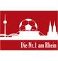 MR. GARDENER Terrassenplatte »Fußball Köln«, aus Beton, Kanten: gefast-Thumbnail