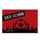 MR. GARDENER Terrassenplatte »Fußball Nürnberg«, aus Beton, Kanten: gefast-Thumbnail