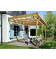 WEKA Terrassenüberdachung »671 Gr. 4«, Breite: 427 cm, Dach: Kunststoff, gruen|braun-Thumbnail