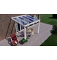 GARDENDREAMS Terrassenüberdachung »Easy Edition«, Breite: 300 cm, Dach: Glas, verkehrsweiß-Thumbnail