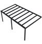 GARDENDREAMS Terrassenüberdachung »Easy Edition«, Breite: 600 cm, Dach: Glas, anthrazitgrau-Thumbnail