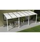 GARDENDREAMS Terrassenüberdachung »Easy Edition«, Breite: 700 cm, Dach: Polycarbonat (PC), weiß-Thumbnail