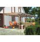 KARIBU Terrassenüberdachung »Eco Modell KDI 1«, Breite: 576 cm, Dach: Polyvinylchlorid (PVC), braun-Thumbnail