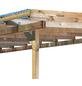 KARIBU Terrassenüberdachung »Eco Modell KDI 3«, Breite: 576 cm, Dach: Polyvinylchlorid (PVC), braun-Thumbnail
