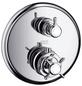 HANSGROHE Thermostat mit Absperr- und Umstellventil »Montreux«, Breite: 176 mm, Messing-Thumbnail