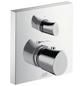 HANSGROHE Thermostat mit Absperr- und Umstellventil »Starck Organic«, Breite: 170 mm, Messing-Thumbnail