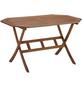 Tisch »Borkum«, mit Eukalyptusholz-Tischplatte, BxTxH: 85 x 135 x 74 cm-Thumbnail