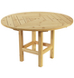 WOLFF Tisch, Holz, beige-Thumbnail