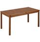 Tisch, mit Eukalyptusholz-Tischplatte, BxTxH: 80 x 150 x 76 cm-Thumbnail