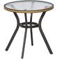 Tisch, ØxH: 72 x 73 cm, Tischplatte: Sicherheitsglas-Thumbnail