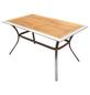Tisch »Siena«, mit Akazienholz-Tischplatte, BxTxH: 80 x 140 x 76 cm-Thumbnail