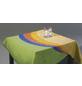 BEST Tischdecke, 210 x 160 cm, Blau, Oval, Baumwolle-Thumbnail
