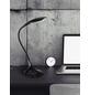 wofi® Tischleuchte, 5,5  W, schwarz, Höhe: 37,5  cm-Thumbnail