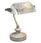 Tischleuchte »ANTIQUE« grau mit 25 W, H: 24 cm, E14 ohne Leuchtmittel-Thumbnail
