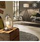 EGLO Tischleuchte »BRADFORD« silberfarben mit 60 W, H: 33 cm, E27 ohne Leuchtmittel-Thumbnail