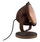 BRILLIANT Tischleuchte »Carmen« rostfarben mit 40 W, Schirm-Ø x H: 17 x 31 cm, E27 ohne Leuchtmittel-Thumbnail