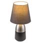 GLOBO LIGHTING Tischleuchte »EUGEN« nickelfarben mit 40 W, H: 31 cm, E14 ohne Leuchtmittel-Thumbnail