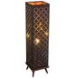 GLOBO LIGHTING Tischleuchte goldfarben/nickelfarben mit 40 W, H: 57 cm, E27 ohne Leuchtmittel-Thumbnail