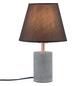 PAULMANN Tischleuchte grau/kupferfarben mit 20 W, H: 34 cm, E27 ohne Leuchtmittel-Thumbnail